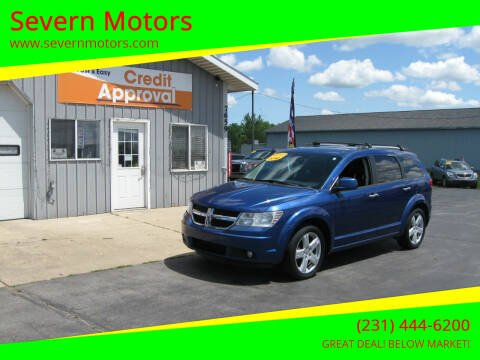 2010 Dodge Journey for sale at Severn Motors in Cadillac MI