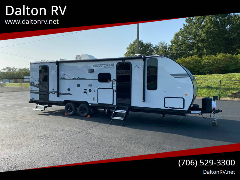 2021 Forest River Grey Wolf 26DBHBL for sale at Dalton RV in Dalton GA