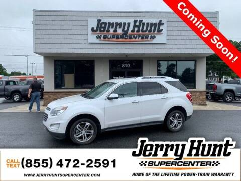 2016 Chevrolet Equinox for sale at Jerry Hunt Supercenter in Lexington NC
