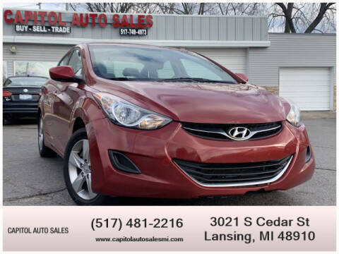 2011 Hyundai Elantra for sale at Capitol Auto Sales in Lansing MI