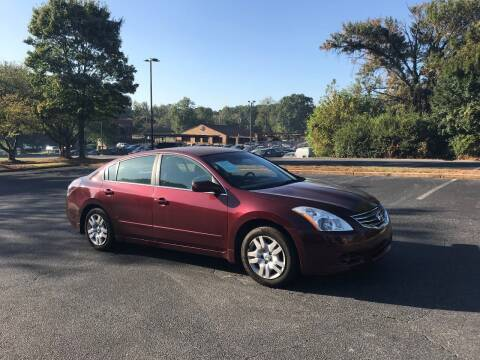 2010 Nissan Altima for sale at SMZ Auto Import in Roswell GA