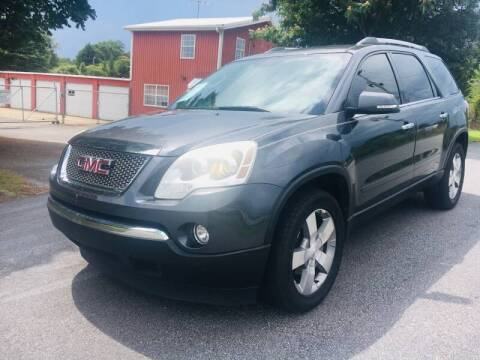 2012 GMC Acadia for sale at Atlanta United Motors in Buford GA