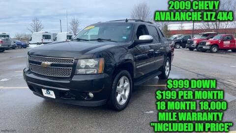 2009 Chevrolet Avalanche for sale at D&D Auto Sales, LLC in Rowley MA