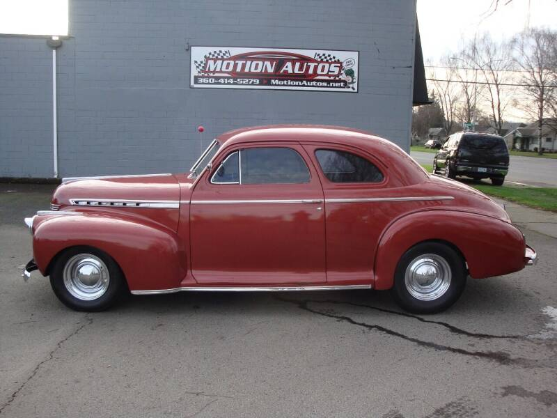 1941 Chevrolet Master Deluxe for sale at Motion Autos in Longview WA