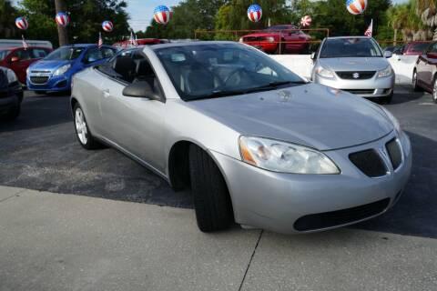 2007 Pontiac G6 for sale at J Linn Motors in Clearwater FL
