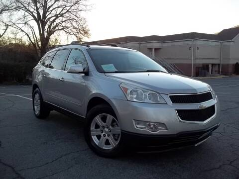 2012 Chevrolet Traverse for sale at CORTEZ AUTO SALES INC in Marietta GA