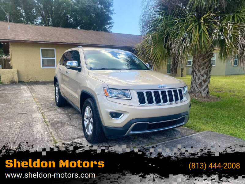 2014 Jeep Grand Cherokee for sale at Sheldon Motors in Tampa FL