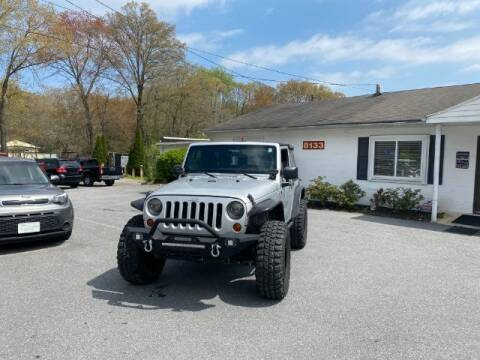 2012 Jeep Wrangler for sale at Sports & Imports in Pasadena MD