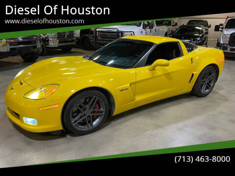 2007 Chevrolet Corvette for sale at Diesel Of Houston in Houston TX