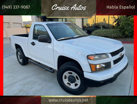 2011 Chevrolet Colorado for sale at Cruise Autos in Corona CA