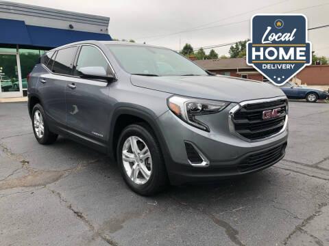2018 GMC Terrain for sale at Lou Rice Auto Sales in Clinton Township MI