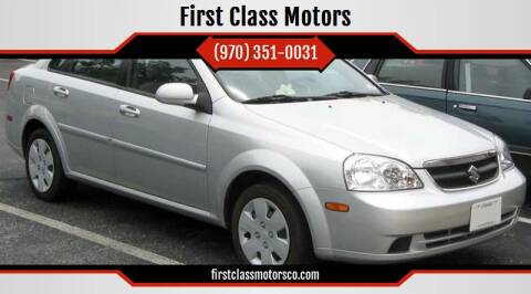 2008 Suzuki Forenza for sale at First Class Motors in Greeley CO