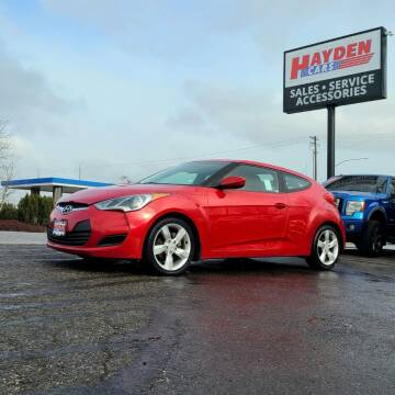 2012 Hyundai Veloster for sale at Hayden Cars in Coeur D Alene ID