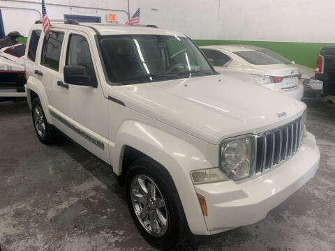 2008 Jeep Liberty for sale at Eden Cars Inc in Hollywood FL