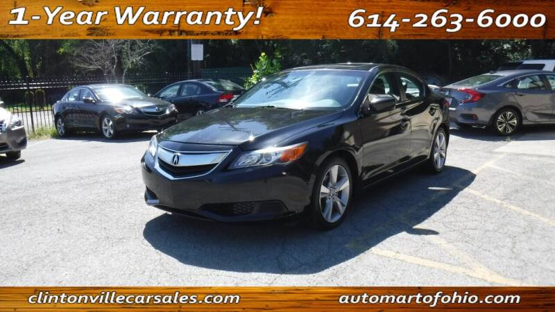 2014 Acura ILX for sale at Clintonville Car Sales - AutoMart of Ohio in Columbus OH