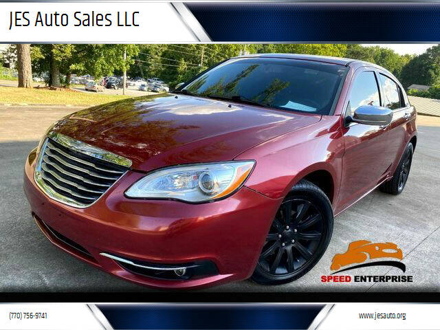 2013 Chrysler 200 for sale at JES Auto Sales LLC in Fairburn GA