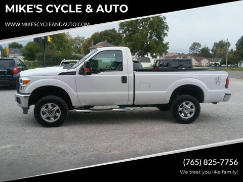 2016 Ford F-250 Super Duty for sale at MIKE'S CYCLE & AUTO in Connersville IN