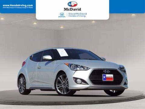2016 Hyundai Veloster for sale at DAVID McDAVID HONDA OF IRVING in Irving TX