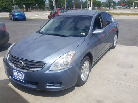 2012 Nissan Altima for sale at Premier Auto Sales Inc. in Newport News VA