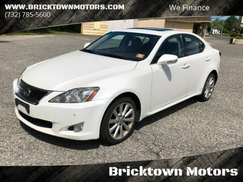 2009 Lexus IS 250 for sale at Bricktown Motors in Brick NJ