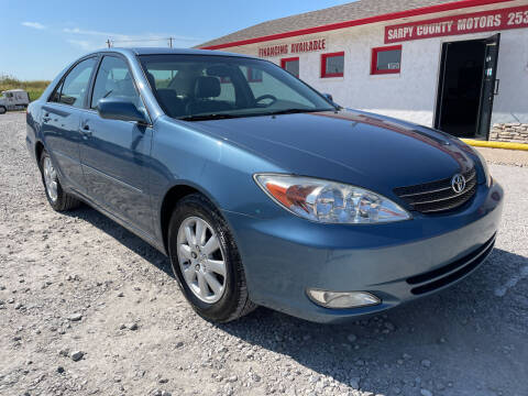2004 Toyota Camry for sale at Sarpy County Motors in Springfield NE