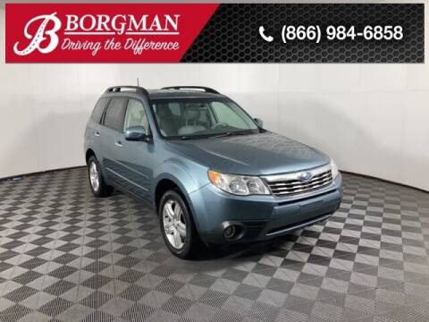 2009 Subaru Forester for sale at BORGMAN OF HOLLAND LLC in Holland MI