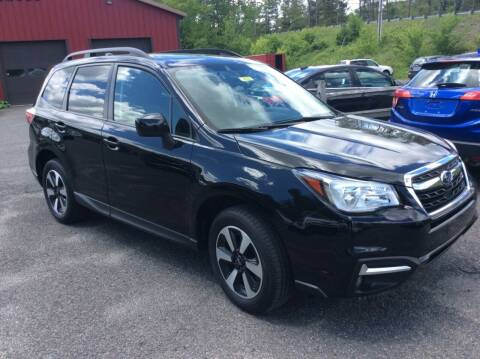 2018 Subaru Forester for sale at Route 102 Auto Sales  and Service in Lee MA