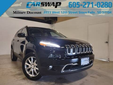 2018 Jeep Cherokee for sale at CarSwap in Sioux Falls SD