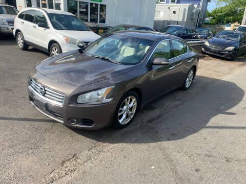2012 Nissan Maxima for sale at Vuolo Auto Sales in North Haven CT