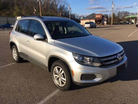 2017 Volkswagen Tiguan for sale at Borderline Auto Sales in Loveland OH