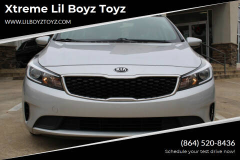 2017 Kia Forte for sale at Xtreme Lil Boyz Toyz in Greenville SC