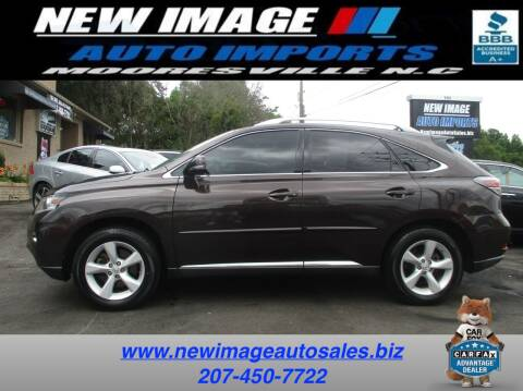 2013 Lexus RX 350 for sale at New Image Auto Imports Inc in Mooresville NC