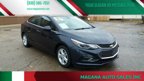 2016 Chevrolet Cruze for sale at Magana Auto Sales Inc in Aurora IL