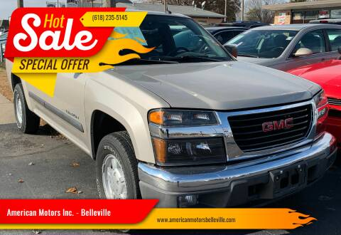 2004 GMC Canyon for sale at American Motors Inc. - Belleville in Belleville IL
