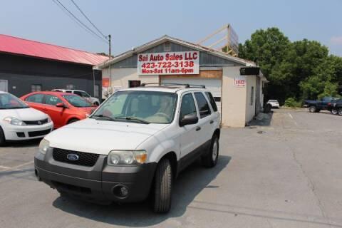 2006 Ford Escape for sale at SAI Auto Sales - Used Cars in Johnson City TN