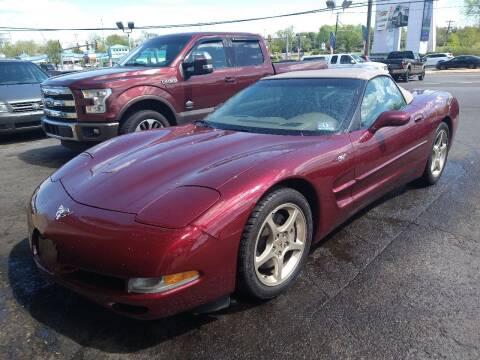 2003 Chevrolet Corvette for sale at P J McCafferty Inc in Langhorne PA