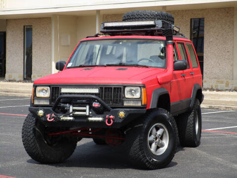 1993 Jeep Cherokee for sale at Ritz Auto Group in Dallas TX