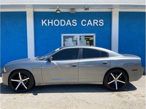 2012 Dodge Charger for sale at Khodas Cars in Gilroy CA