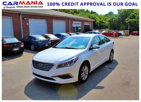2017 Hyundai Sonata for sale at CARMANIA LLC in Chesapeake VA