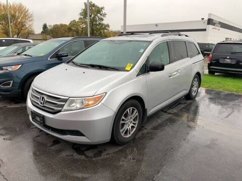 2013 Honda Odyssey for sale at BORGMAN OF HOLLAND LLC in Holland MI