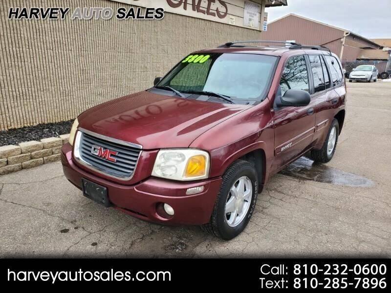 2002 GMC Envoy for sale at Harvey Auto Sales, LLC. in Flint MI