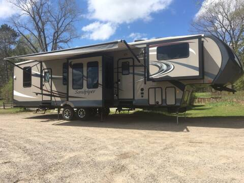 2016 Forest River Sandpiper for sale at Winwood Auto Sales in Farwell MI