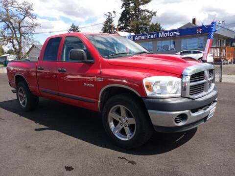 2008 Dodge Ram Pickup 1500 for sale at All American Motors in Tacoma WA