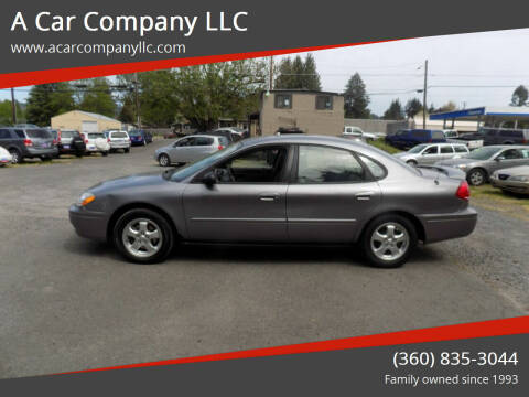 2006 Ford Taurus for sale at A Car Company LLC in Washougal WA