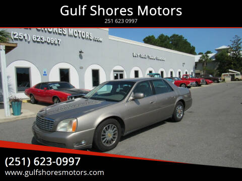 2002 Cadillac DeVille for sale at Gulf Shores Motors in Gulf Shores AL