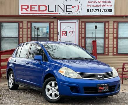 2009 Nissan Versa for sale at REDLINE AUTO SALES LLC in Cedar Creek TX