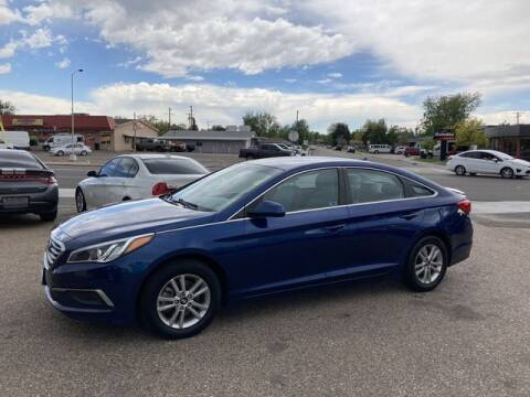 2017 Hyundai Sonata for sale at First Class Motors in Greeley CO