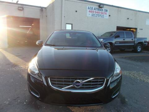 2012 Volvo S60 for sale at ACH AutoHaus in Dallas TX