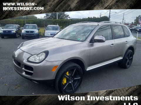2004 Porsche Cayenne for sale at Wilson Investments LLC in Ewing NJ