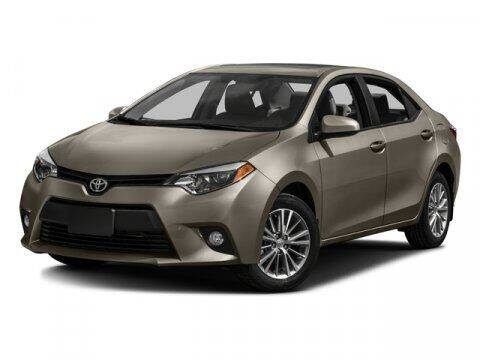 2016 Toyota Corolla for sale at CarZoneUSA in West Monroe LA